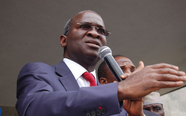 Fashola Commissions 100 Housing Units, Commends Federal Controllers As Worthy Ambassadors