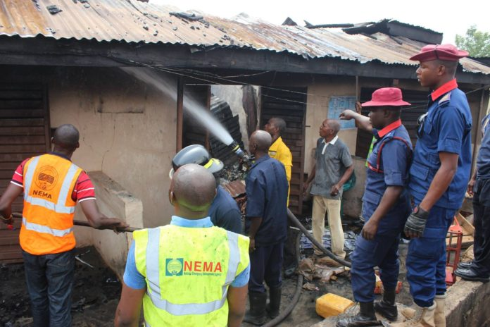 Fire incident NEMA