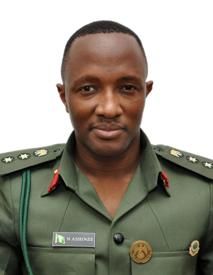 Colonel Nicholas Ashinze