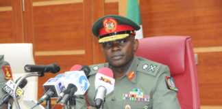 CGS Chief of defence staff General Olonisakin