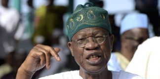lai Mohammaed former Minister Information