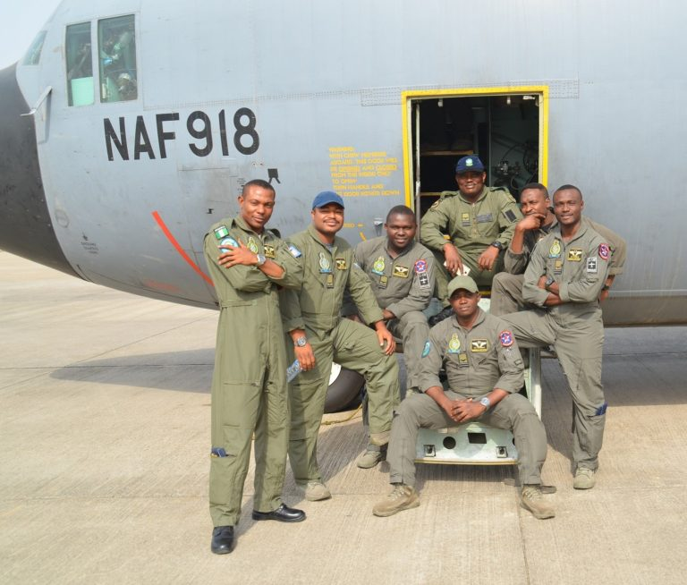 Nigerian Airforce Graduates 1,928 Newly Recruits
