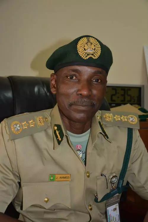 Jaafaru Ahmed CG Nigerian Correctional Service NCos Prison