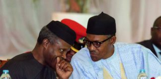 President Buhari with VP Osinbajo