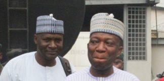 Prof Abubakar Sulaiman with Bar Dele Belgore