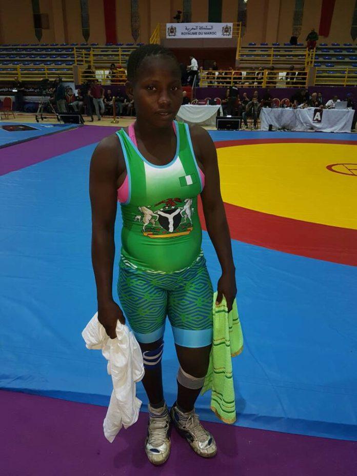 Army Female Wrestler