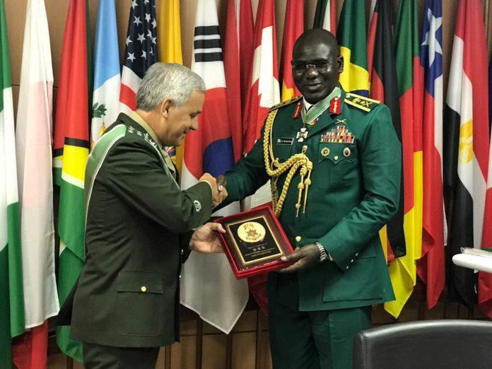 General Buratai Brazilian Honours