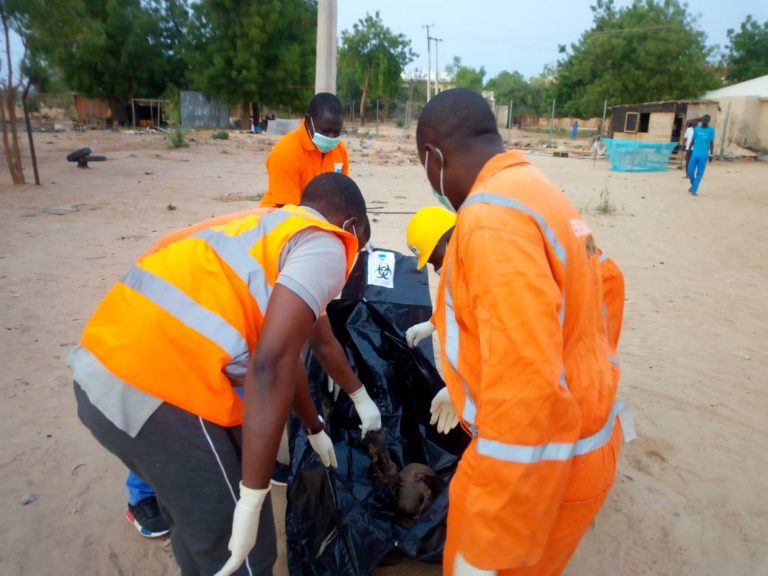 After Marte Takeover by Troops, Heavy explosions Engulf Maiduguri outskirt