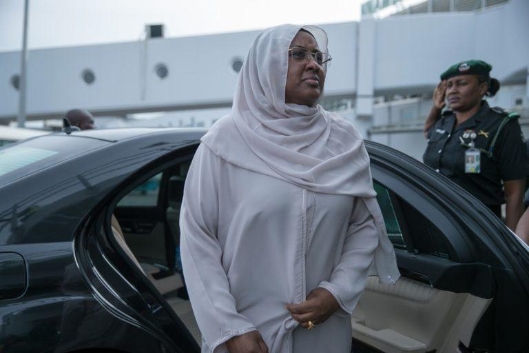 Aisha Buhari leaves Nigeria for United Kingdom