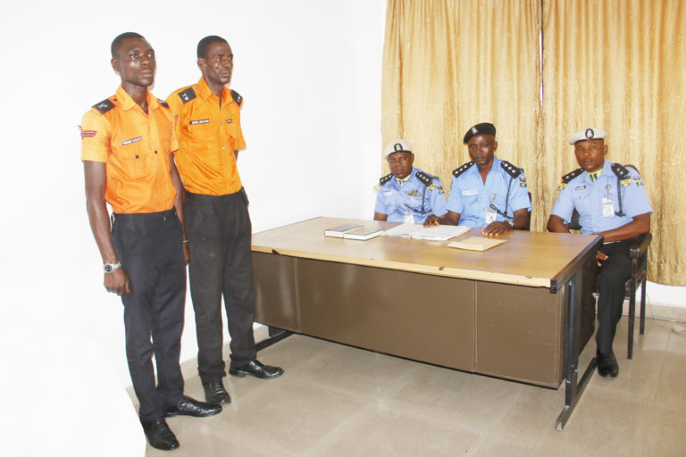 Police Dismiss Two Traffic Wardens for Extortion