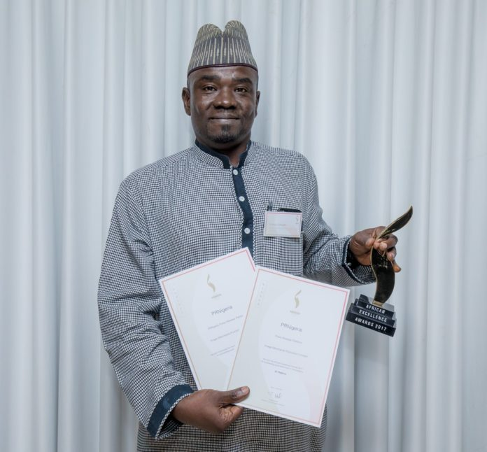 Yushau Shuaib receives African Excellence Award for PRNigeria in South Africa
