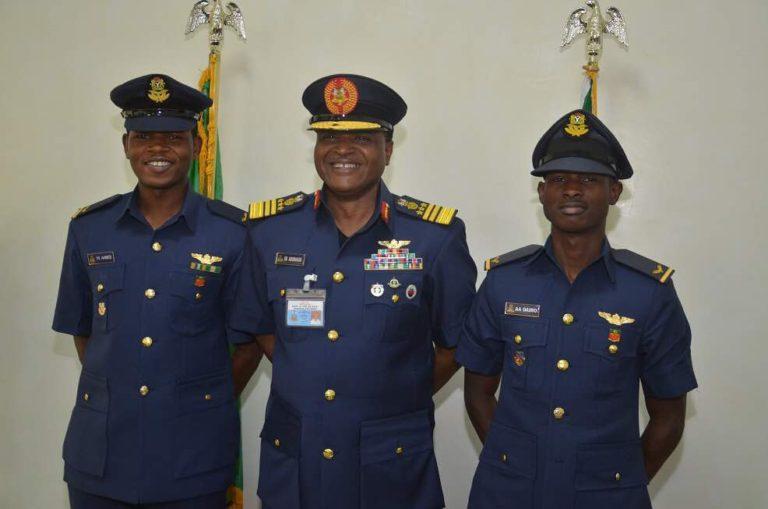 NAF Deploys Fighter Jet Pilots to Combat Operations