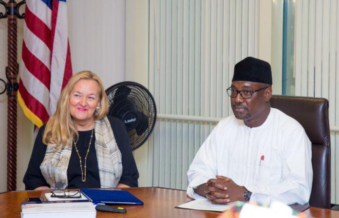 Niger Gov Sani Bello in USA