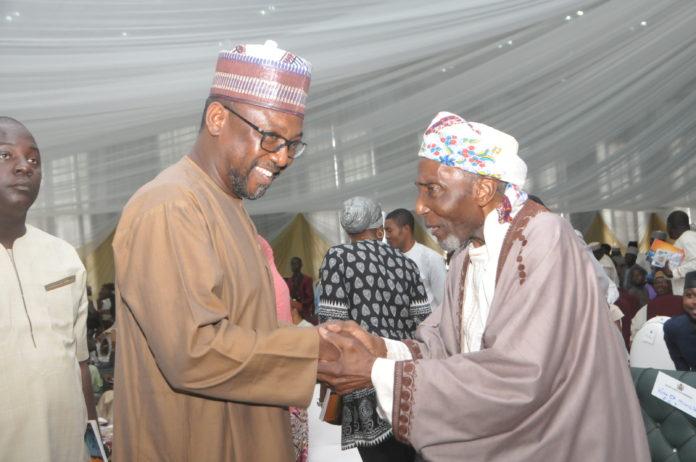 Niger Governor Sani-Bello with Sheikh Lemo