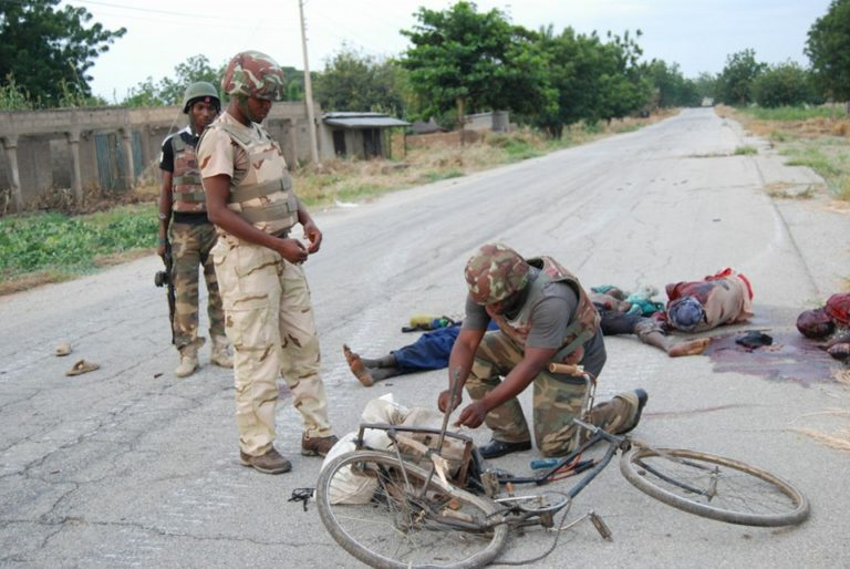 Nigerian Troops Eliminate Bicycle Riding Terrorists