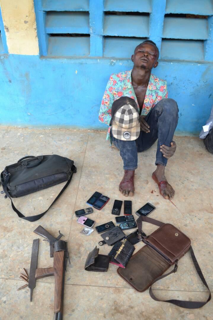 Police Nab Notorious Apo Armed Robbery Syndicates