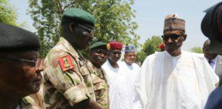 Buhari Buratai Borno