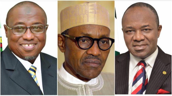 Maikanti Baru, Muhammadu Buhari, Emmanuel Kachikwu
