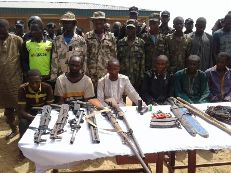 Police Parade Adamu, Ahmadu for Killing Barrister Sheriff Yazid and Kidnapping his Wife