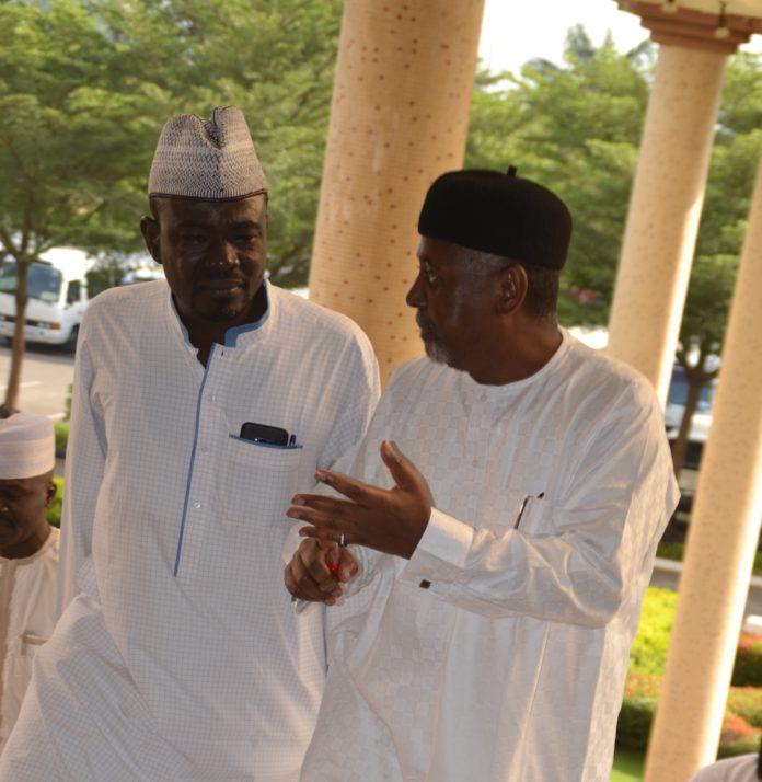 Yushau Shuaib Author of An Encounter with the Spymaster with former NSA Sambo Dasuki in Federal High Court Abuja