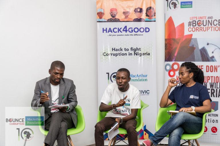 #BounceCorruption Hackathons Competition