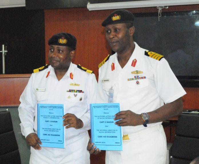 Commodore Ayo Olugbode and Commodore Suleman Dahun