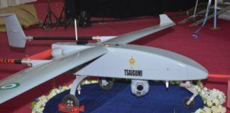 NAF Unmanned Aerial Vehicle UAE