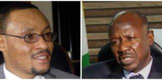 CCT Boss Danladi Umar and EFCC Boss Ibrahim Magu