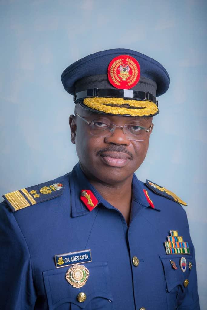 AVM Olatokunbo Adesanya NAF Spokesperson