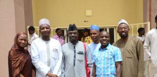 Some Lecturers of Social Media Studies of Bayero University Kano BUK