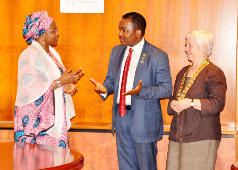 Review your charges downwards – Mrs. Buhari urges private health institutions