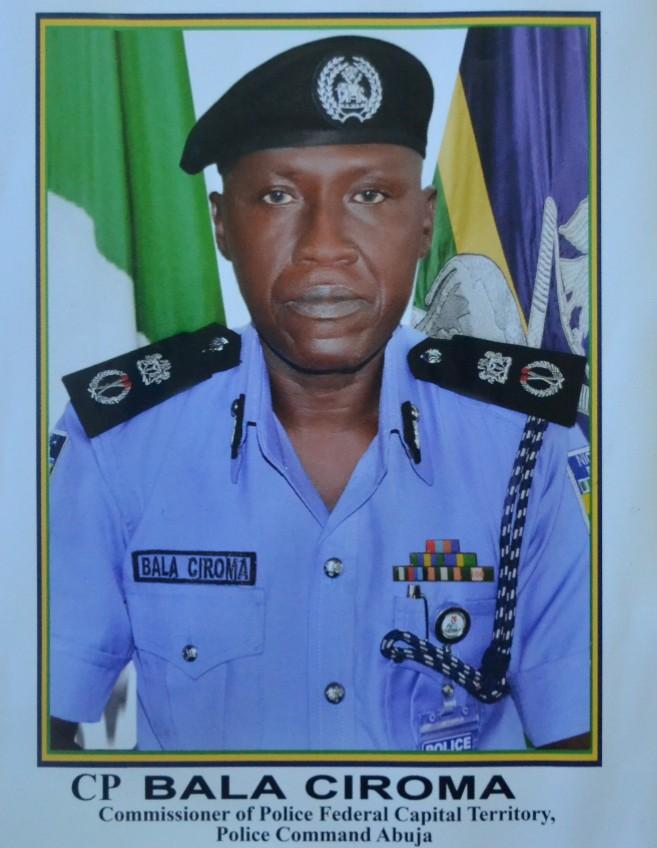 Bala Ciroma FCT Police Commissioner