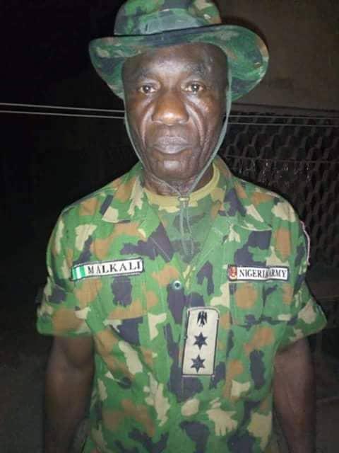Armed Bandit Fake Army Officer in Birnin-Gwari
