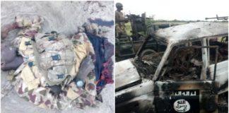 FILE IMAGE: Troops Tackle Boko Haram in Damasak in September 2018
