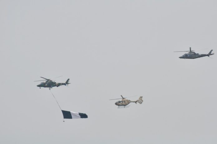 NAF Helicopter on Air Display