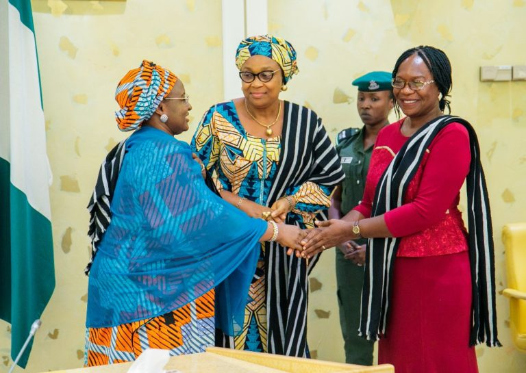 Mothers must break culture of Silence and save their Children – Aisha Buhari