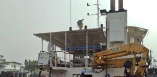 EFCC captured vessel