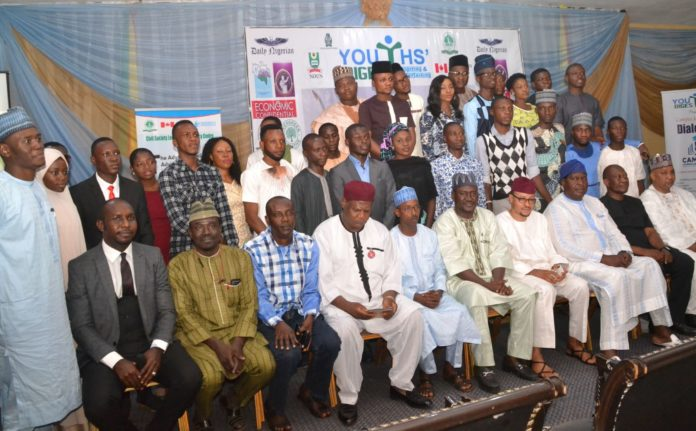 Guests and award winners at the Campus Journalism Award CJA 2019 event in Abuja