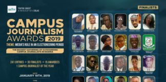 Campus Journalism Award Finalists