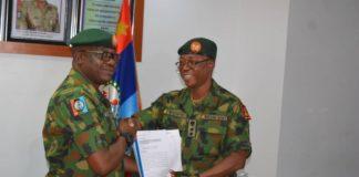Brigadier John Agim and Colonel Nwachukwu Onyema