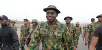 Lt Gen Buratai on Physical Exercise