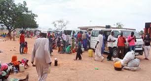 Again, NEMA Provides Relief Items to IDPs in Maiduguri