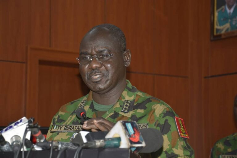 Buratai Reels Out 12 Rules of Engagement During Election