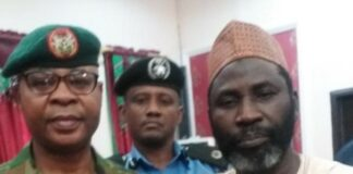 Sheikh Ahmed Sulaiman after his freedom in katsina