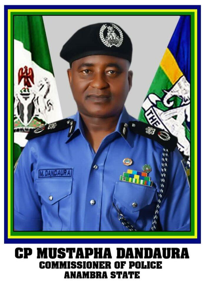 CP Mustapha Dandaura Anambra Police