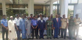 FOSSRA Members at DDS Headquarters