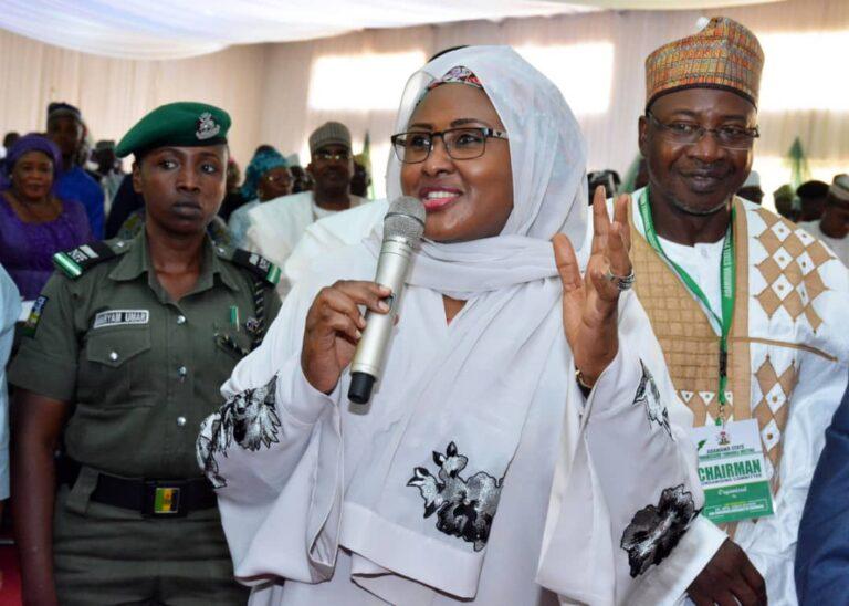 In Adamawa: Aisha Buhari seeksfor unity, peace and love