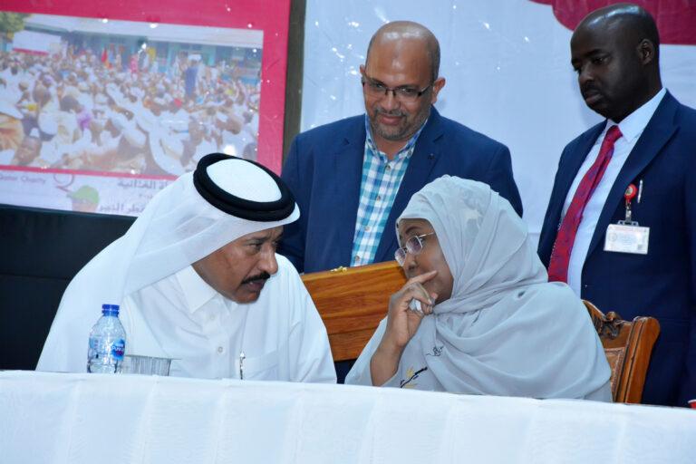 Aisha Buhari Hails Qatar Charity