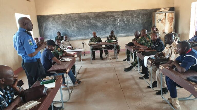 Joint Security Team Visits Niger Republic