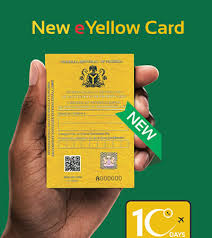 FG replaces Old yellow Card with e-Version